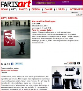 article paris art