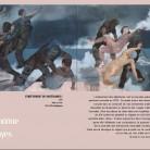 """Extrait du catalogue de la biennale d'art contemporain de Douai """"Hybride 3""""."""